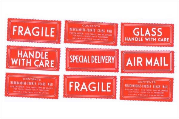 8+ Shipping Label Templates - Free PSD, EPS, AI, Illustrator ...