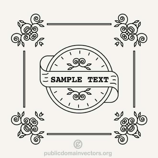 wine label template   free vectors   UI Download