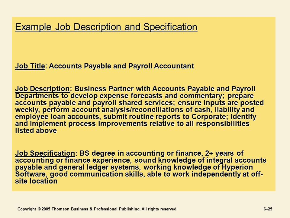 Jobs and Job Analysis Chapter 6 SECTION 2 Staffing the ...