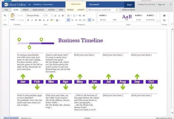 11+ Business Timeline Templates- Free Word, PPT, PDF Format ...