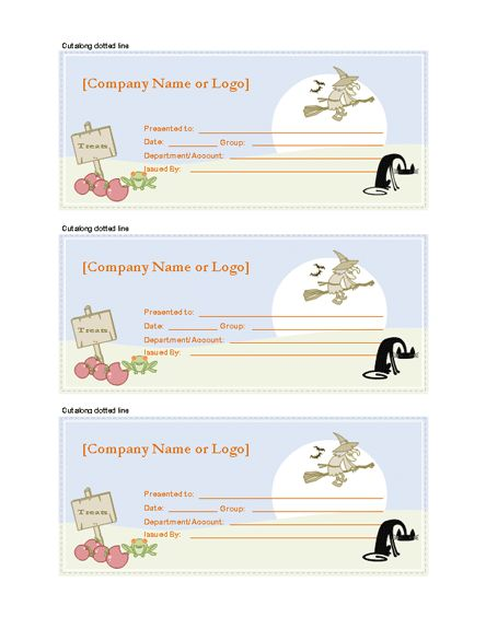 Gift Certificate Template | Gift Certificates | Ready-Made Office ...