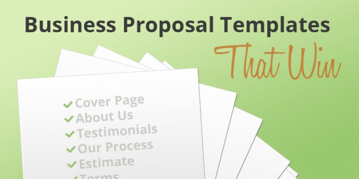 Free Business Proposal Templates | The Proposable Blog