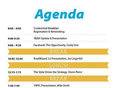 agenda layout | AGENDA | Pinterest