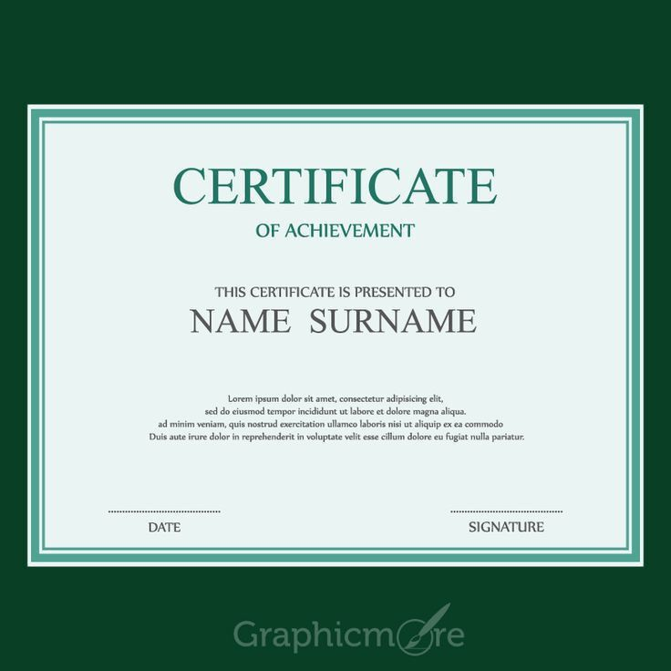 122 best Certificate images on Pinterest | Certificate design ...