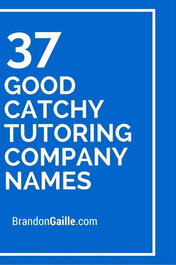 35 good catchy tutoring company slogans brandongaillecom