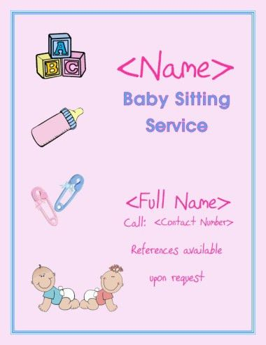 12 best Childcare advertising images on Pinterest | Daycare ideas ...