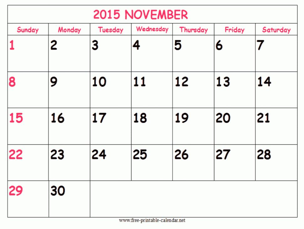Free printable calendar, Printable calendars and October calendar ...