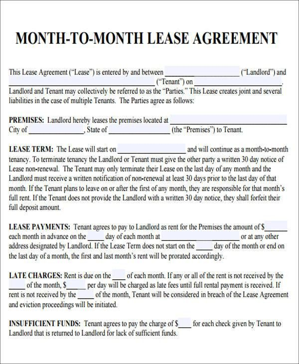 Great 6+ Sample Roommate Rental Agreement Form   Examples In Word, PDF