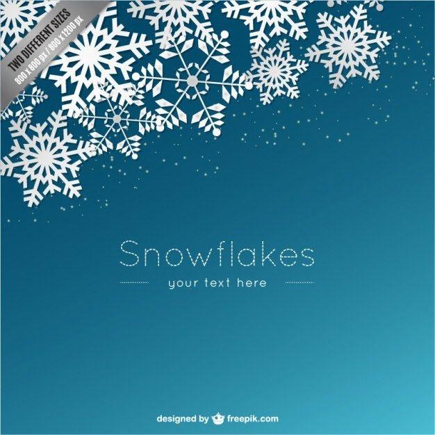 Snowflake Border Vectors, Photos and PSD files | Free Download