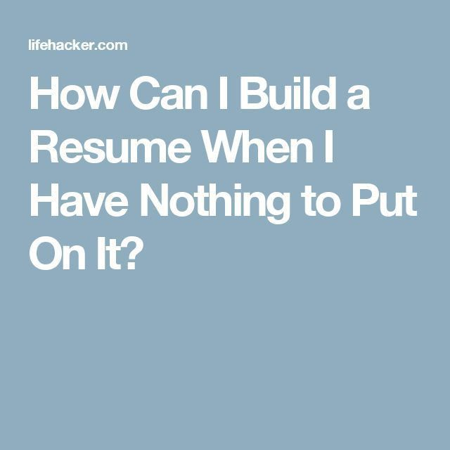 Best 25+ Build a resume ideas on Pinterest | Writing a cv, Resume ...