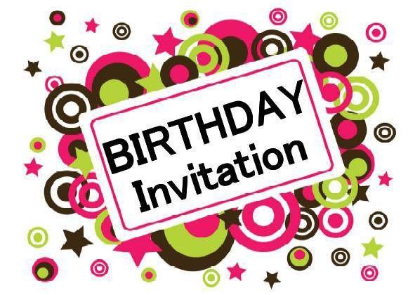 Birthday Invite - dhavalthakur.Com
