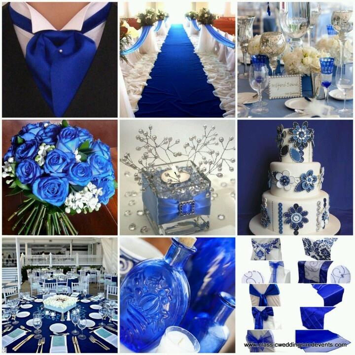 royal blue and silver wedding centerpieces%0A Decoraci  n de fiestas de xv a  os color azul marino   Ideas para   Centerpieces and Wedding