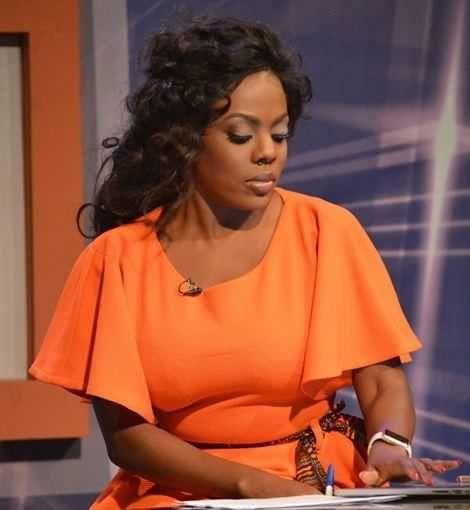 Nana Aba Anamoah Turns English Tutor... | General Entertainment ...