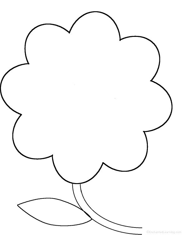 perimeter poem … | Namo | Pinterest | Flower template, Stenciling ...