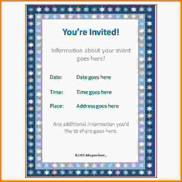 Event Invitation Templates ...