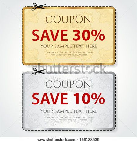 Coupon Stock Images, Royalty-Free Images & Vectors | Shutterstock