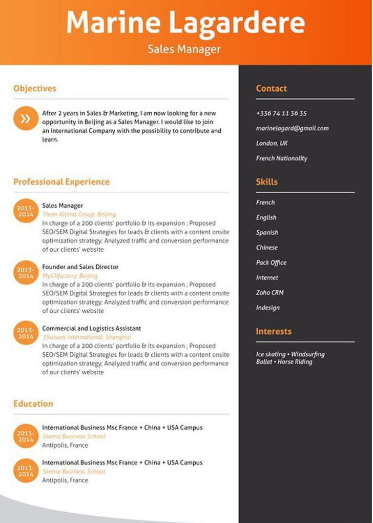 Effective Resume Formats: Various Resume Formats and When to Use ...