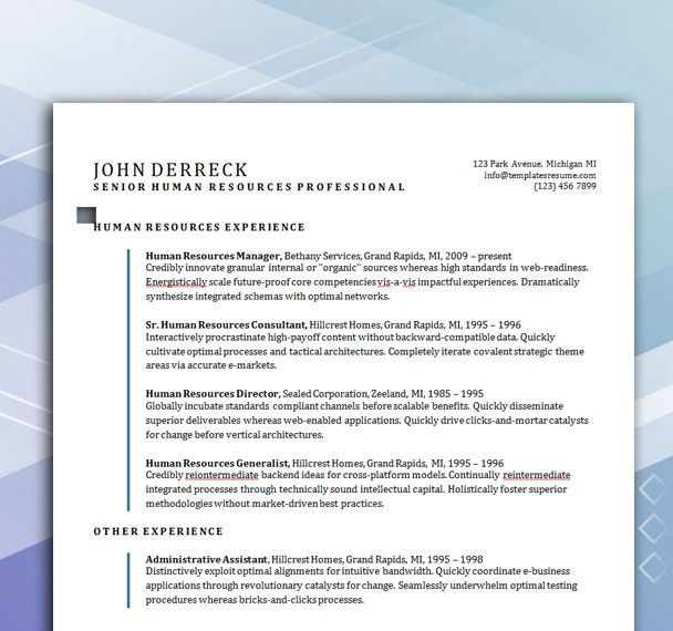 Free Resume Templates | Security Guard Resume