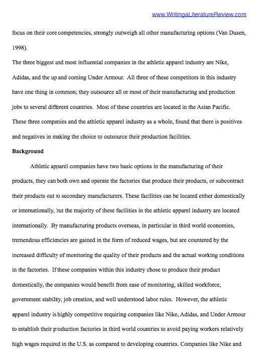 Unique Literature Review Examples   Writing a Literature Review
