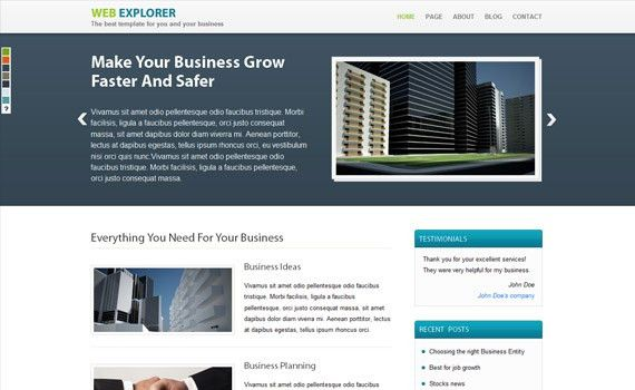 60 Top Premium Business Wordpress Themes | Business Theme ...