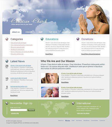 Religion Website Templates