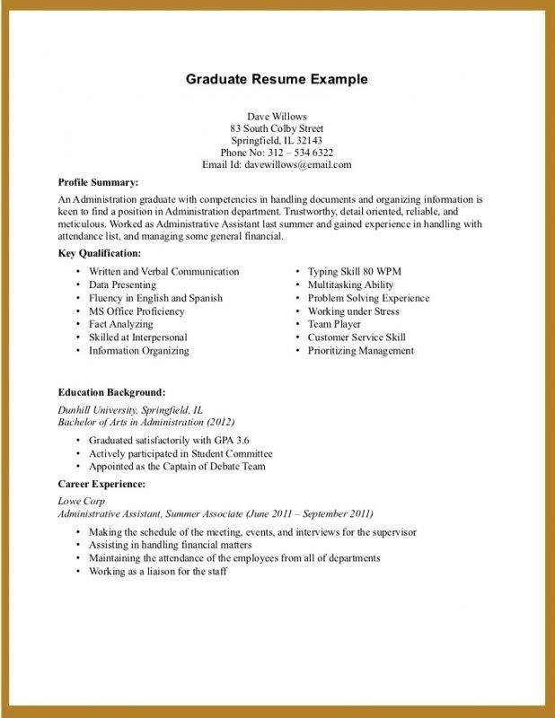 Resume For Students With No Experience | jennywashere.com
