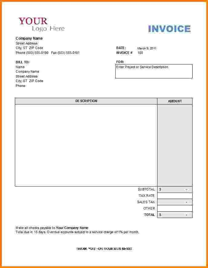 5+ general contractor invoice | Short paid invoice