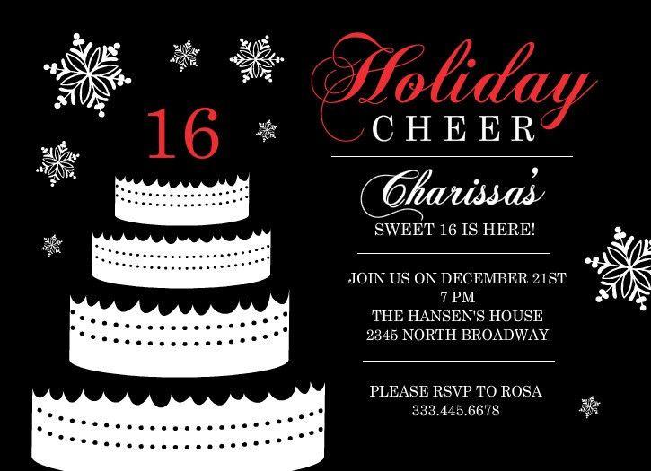 FREE Sweet 16 Birthday Invitations Templates | Drevio Invitations ...