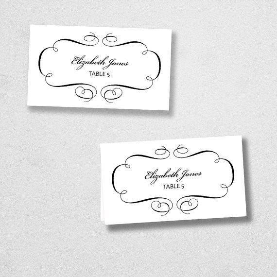 printable place cards template - thebridgesummit.co