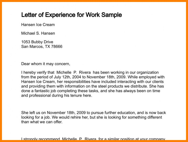 14+ it work experience letter sample | ledger paper