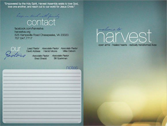 9+ Church Bulletin Templates - Download Documents in PSD , PDF