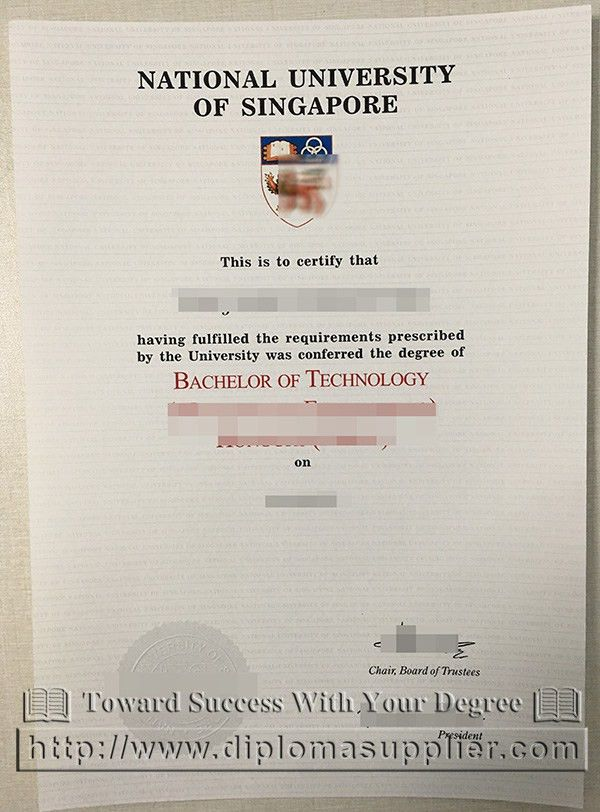 NUS fake degree, National University of Singapore fake degree ...