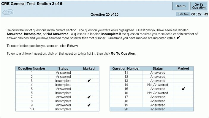GRE General Test Strategies and Tips (For Test Takers)
