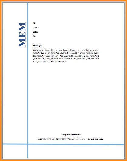 5+ microsoft word memo template | mac resume template