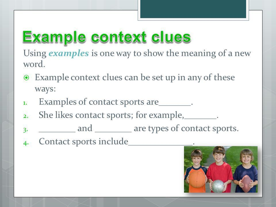 Definitions, Restatements, Examples, Synonyms, and Antonyms! - ppt ...