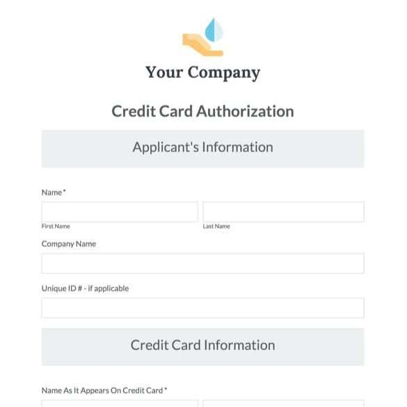 Online Payment Form Templates | Secure Payment Forms | Formstack