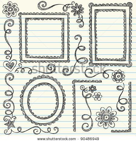 Simple Border Designs For School Projects To Draw | Free Download ...