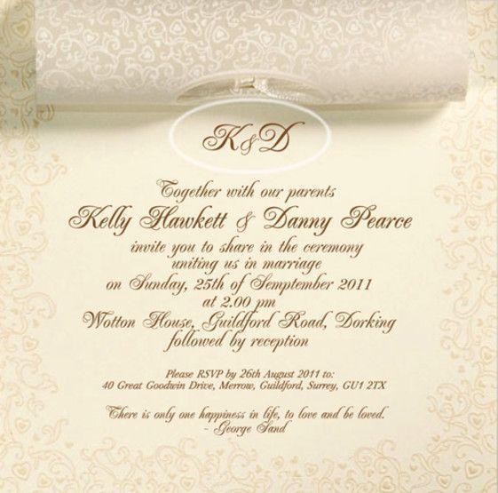 25 best Wedding Invitation Templates images on Pinterest | Wedding ...