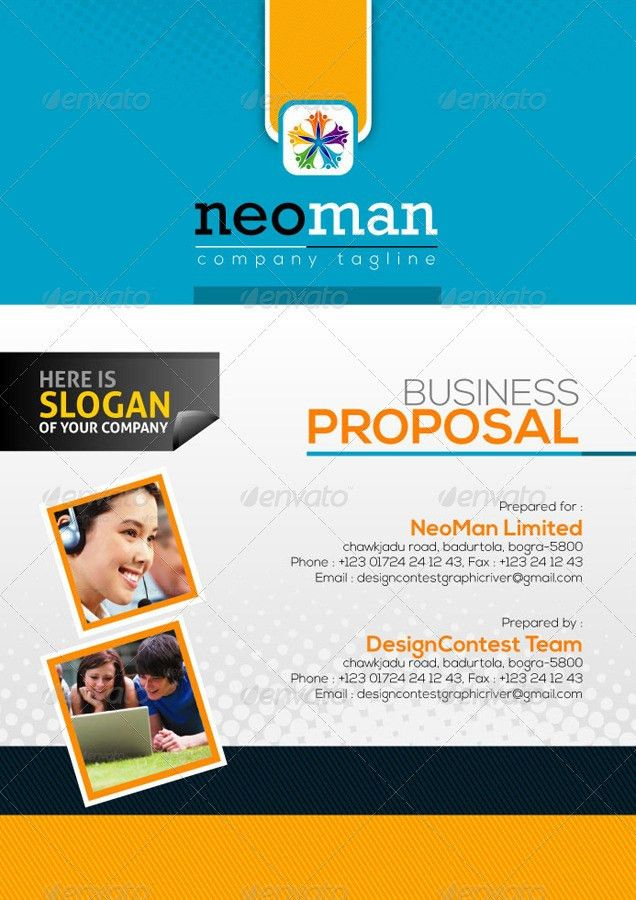 3 in 1 Business/Project Proposal Bundle by ContestDesign ...