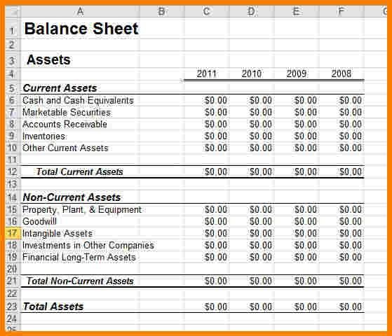 7+ business financial statement template excel | Case Statement 2017