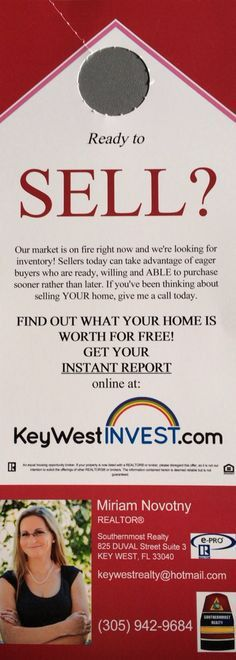 Real Estate Listing Inventory - Ready to Sell? - Door Hanger ...