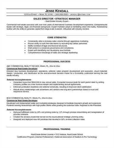 Effective Resume Templates