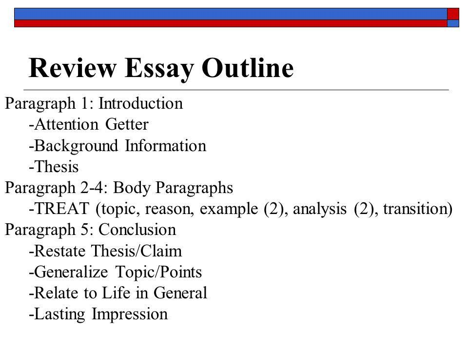 Literary Analysis Essay - ppt download