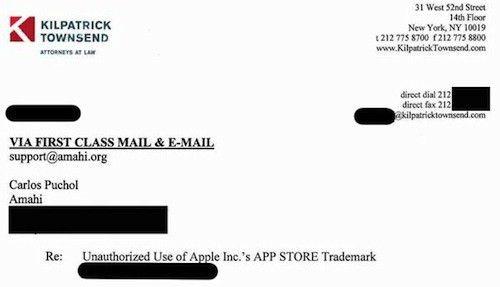 Apple Continues Sending Cease and Desist Letters Regarding 'App ...