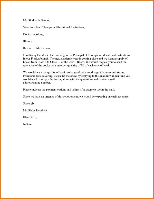 Letter Format In Word.123944333.png | Scope Of Work Template