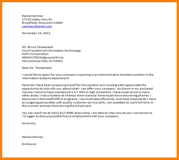28+ [ Closing Statement Cover Letter ] | Resume Amp Cover Letter ...