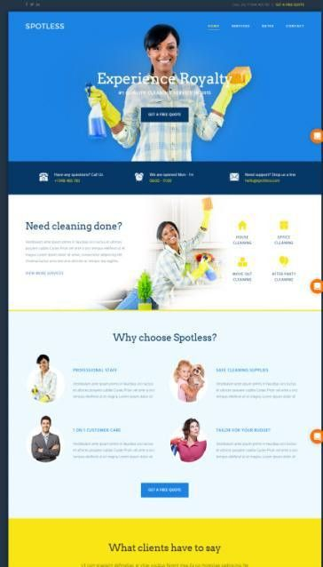 ThemeFuse Spotless Review : The Core Cleaning Theme | GOOD ?
