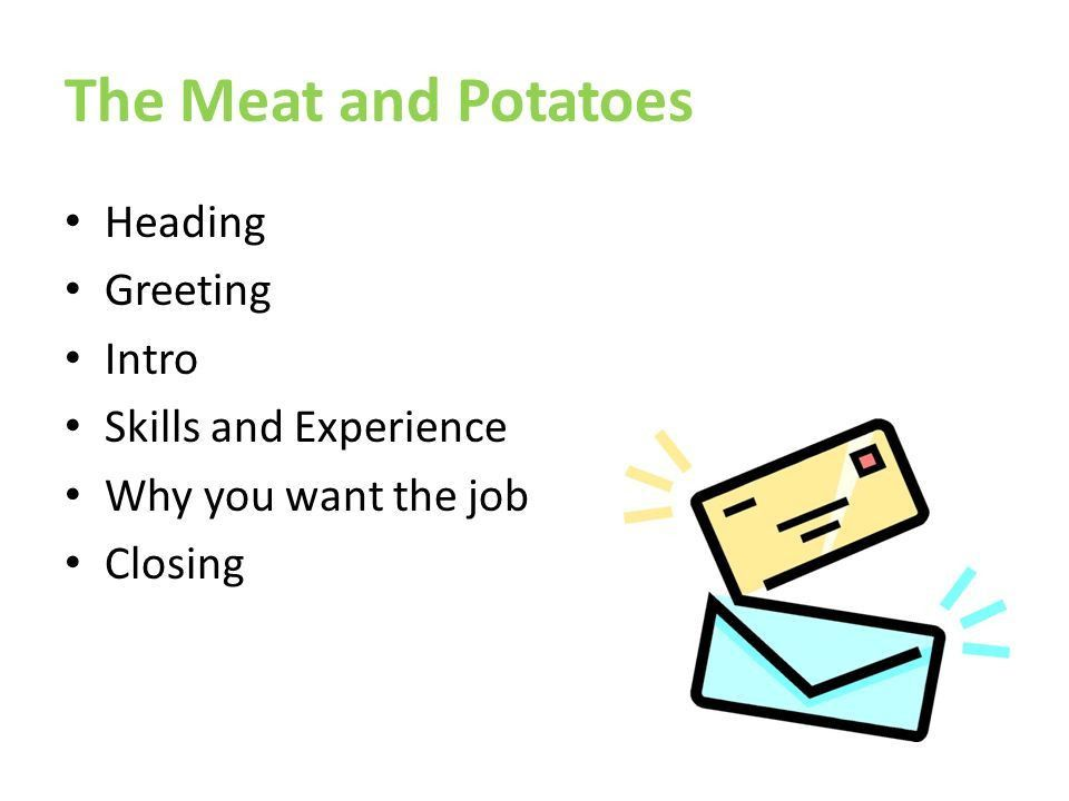 greeting for a cover letters