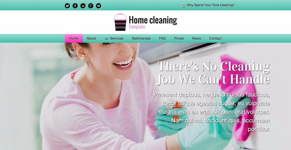 15 Best WordPress Themes for Cleaning Services (2017) | EGrappler