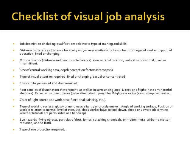 Industrial visual screening